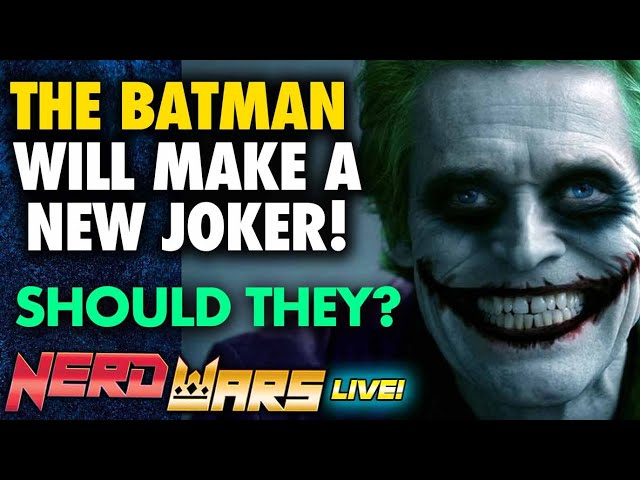 The Batman IS Adding Another Joker - Who Should It Be? - NERD WARS