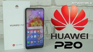 Розпакування Huawei P20 4/128GB Black Unboxing