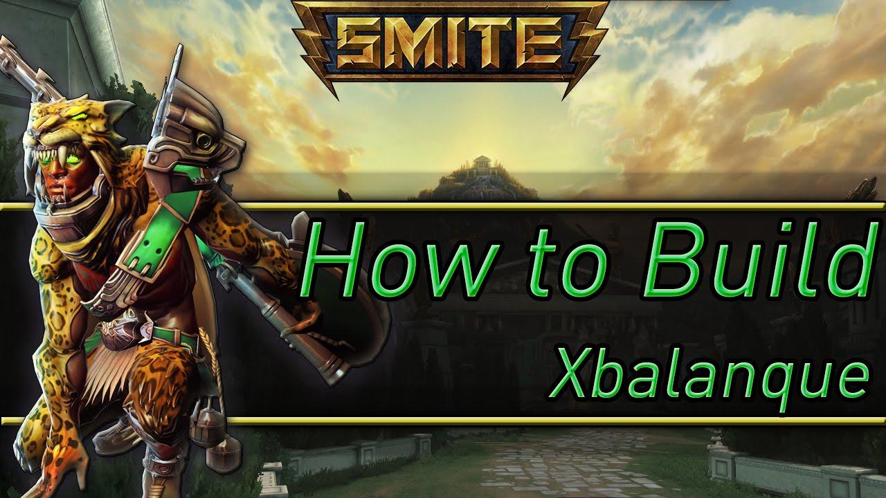Smite  Xbalanque Build