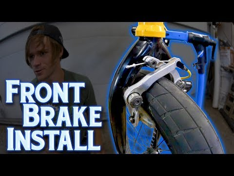 How To Install Front BMX Brakes