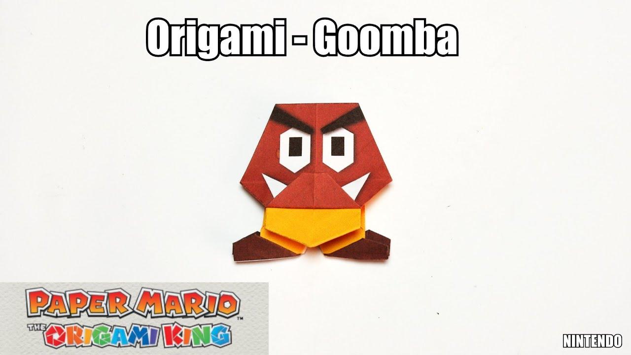 Origami - Goomba