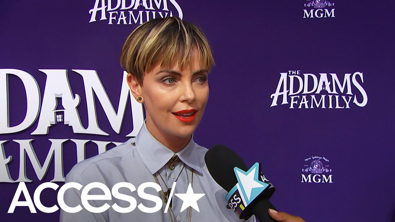 Charlize Theron And Her Kids Will Channel 'Addams Family' Vibe For Halloween