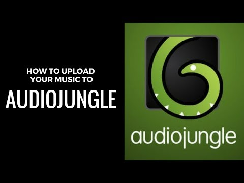 How To Upload Your Music To AudioJungle