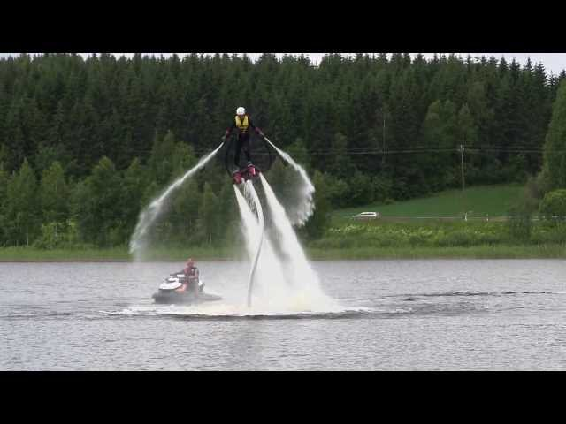 Mr Lothar testaa FlyBoardia osa 5