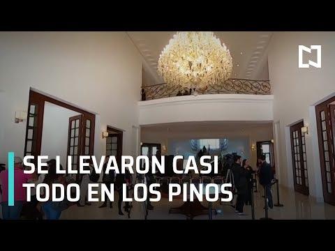 Mexicanos entran a Los Pinos, convertido ahora en centro cultural - Despierta con Loret