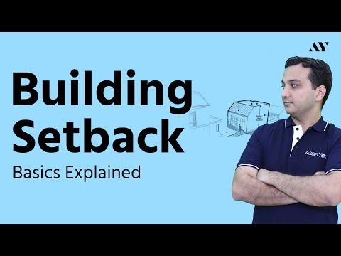 Building Setback Distance from Property Line