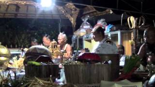 BALI - 7 HIGH PRIESTS IN A ROW! #1 Ceremony Kanjeng Madi to become High Priest
