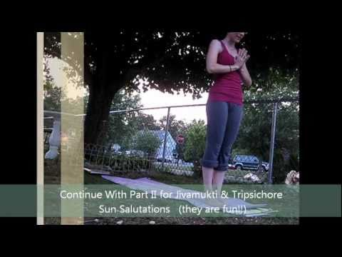 Summer Solstice Yoga- Sun Salutations A, B, C (part 1 of 2) LauraGYOGA