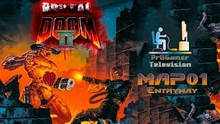 Скачать Brutal Doom II Hell On Earth Ver 20b Прохождение MAP01