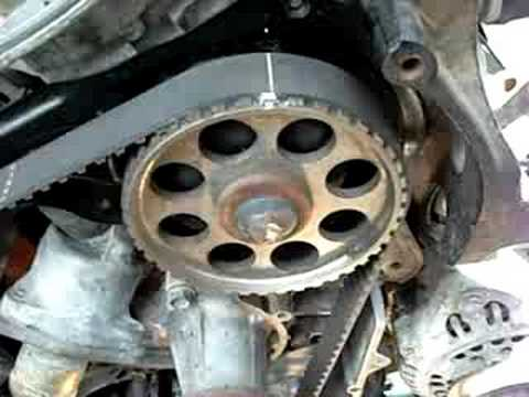 Nissan Pathfinder Timing Belt Replacement - YouTube