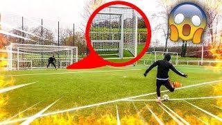 EXTREME FREISTOß FUßBALL CHALLENGE *4 TORE*