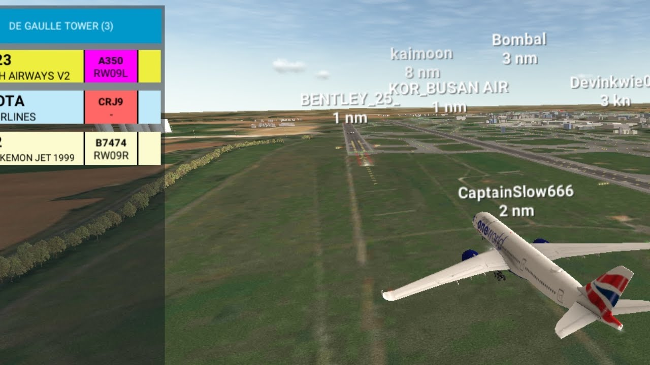 [RFS Air Traffic Control#60]Paris Charles de Gaulle Airport Tower ATC Control