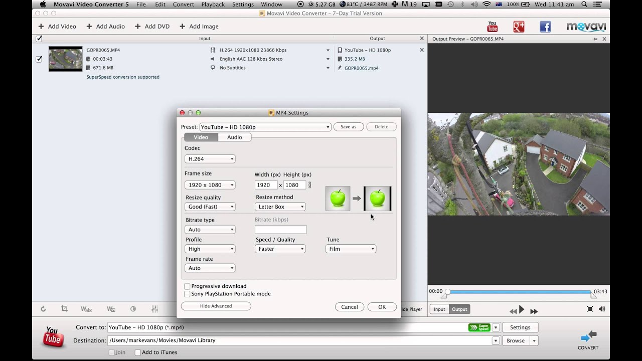 Movavi Video Converter | How to Reduce a Video File Size Tutorial ...