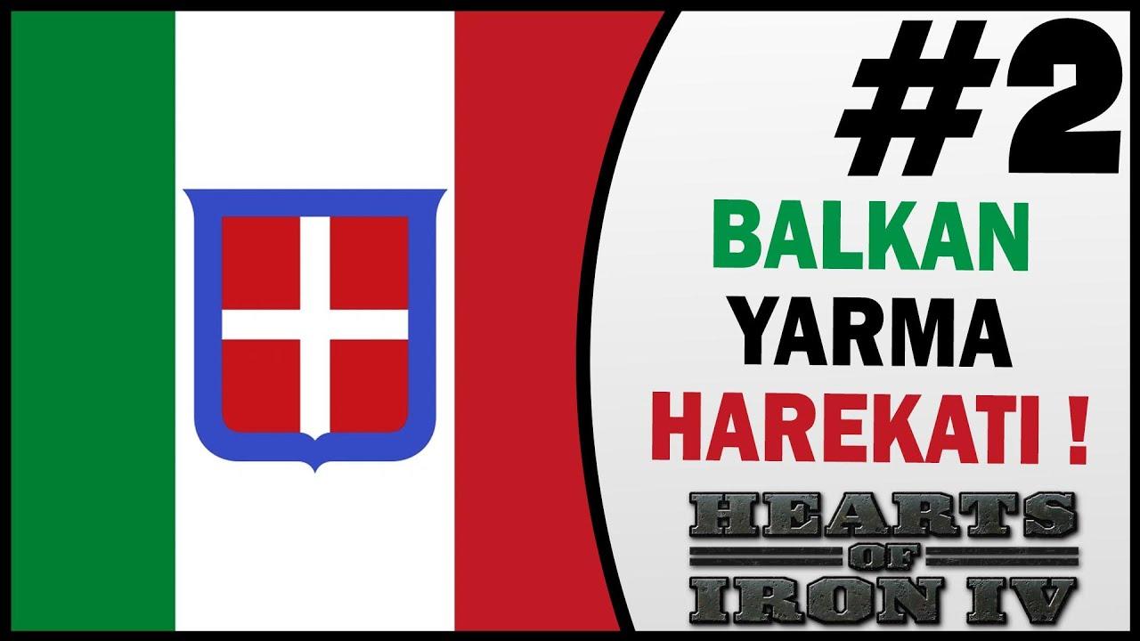 Balkanlarda Yarma Harekatı - 2.Bölüm - HOI4 Türkçe