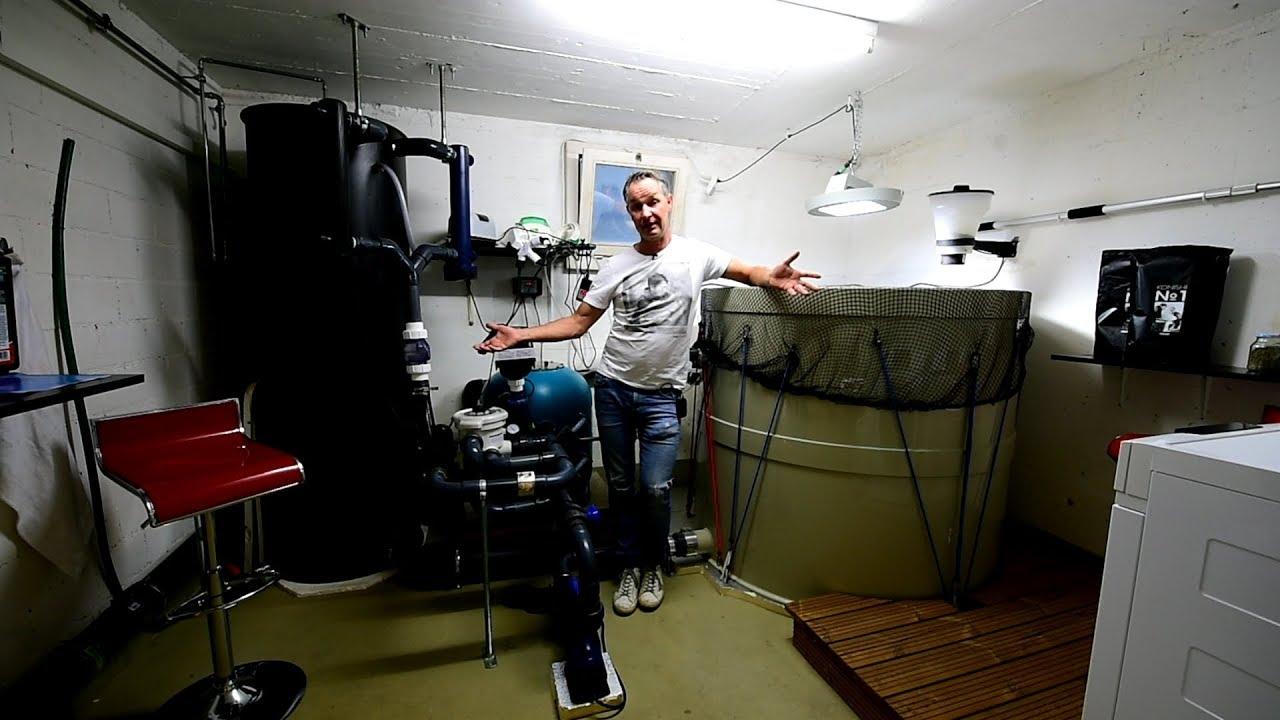 Modern Koi Blog #3300 - Männerspielzeug: Eine 1.700 Liter große Karashigoi Aufzuchtanlage