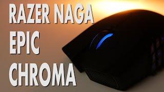 Razer Naga Epic Chroma - Wireless Gaming Mouse Review