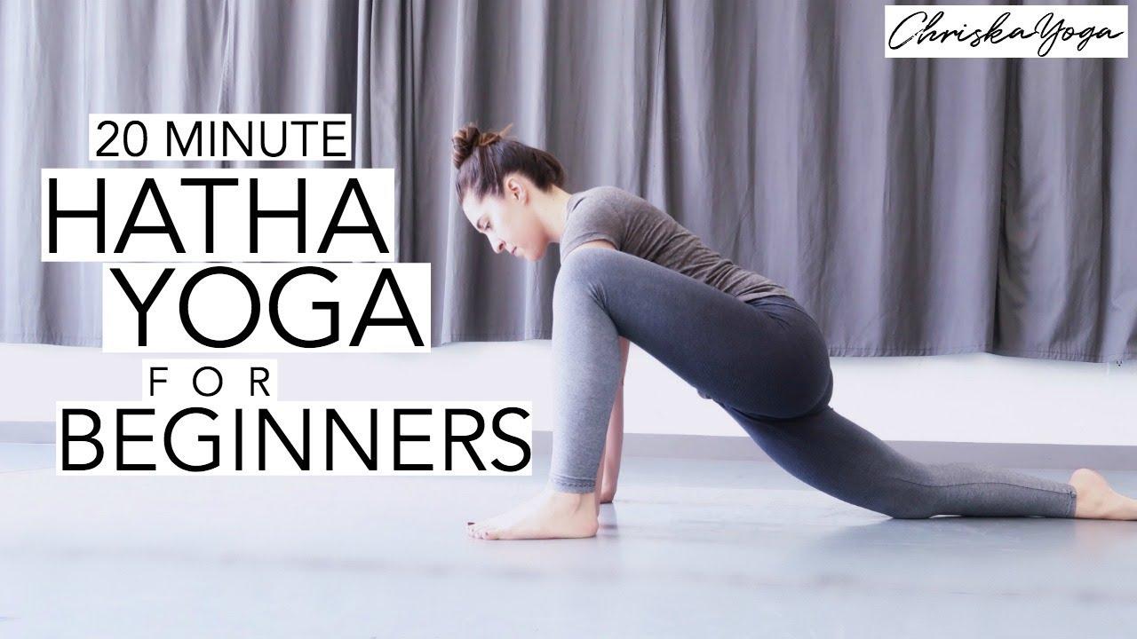 Hatha Yoga For Beginners 20 Min Gentle Beginners Yoga Class Chriskayoga Youtube