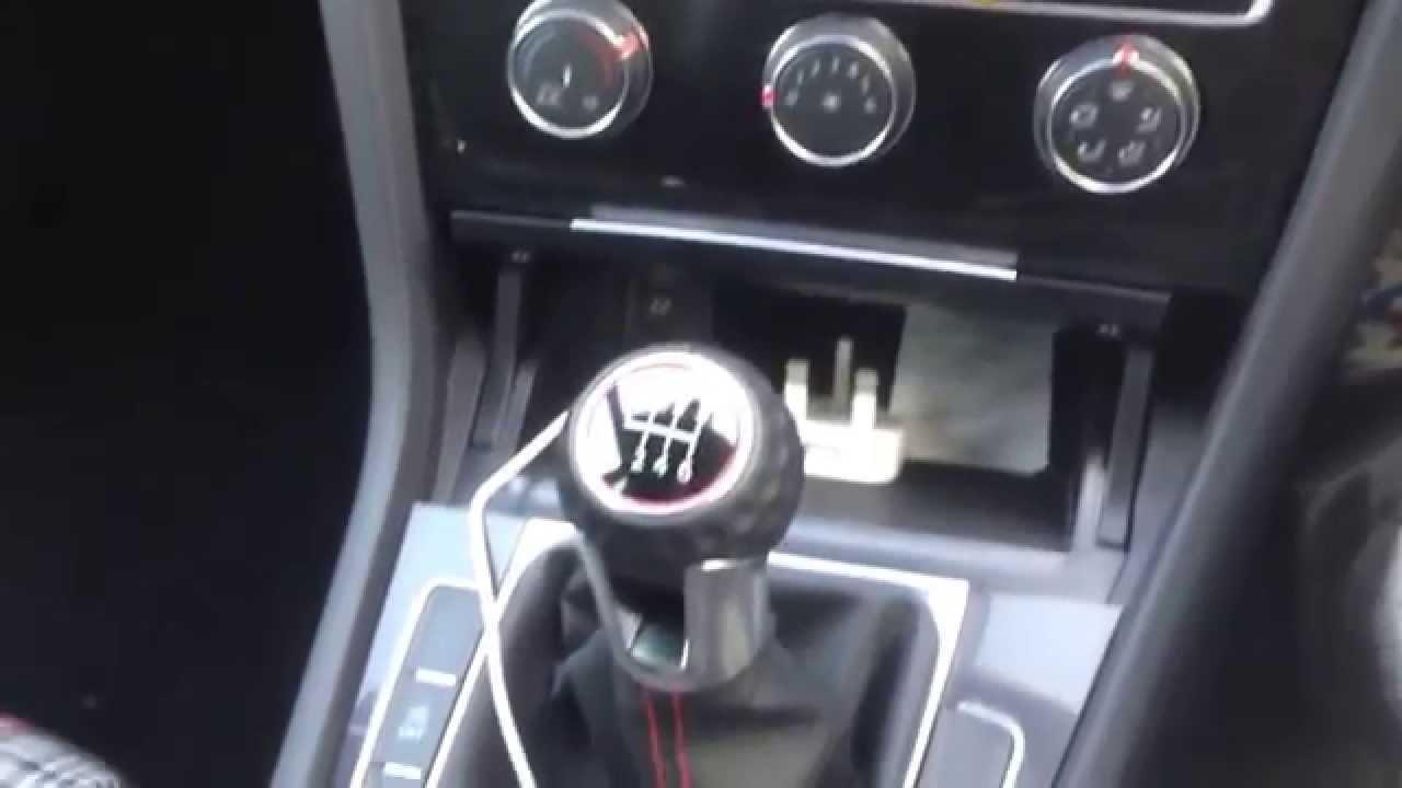 Volkswagen Golf GTI mk7 interior  YouTube