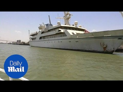 Saddam Hussein's superyacht converted into a hotel for pilots - Daily Mail