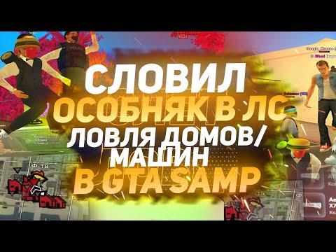 СЛОВИЛ ОСОБНЯК В ЛС & ЛОВЛЯ ДОМОВ/МАШИН В GTA SAMP (ARIZONA RP)