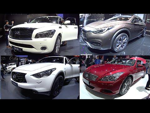 New luxury 2016, 2017 Infiniti SUVs, Sedans: QX80, QX70, QX60, QX50, QX30, ESQ, Q60, Q50