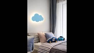 인테리어 구름 벽걸이 조명 등 북유럽 감성 침실 램프
