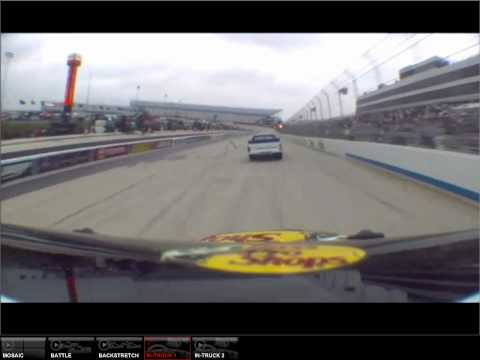 Ty Dillon onboard Dover 2012 (red flag on lap 121-finish)