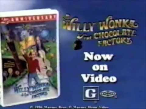 Willy Wonka And The Chocolate Factory Vhs Willy Wonka VHS...