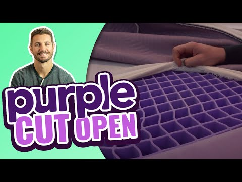 NEW Purple Mattress Review - Construction of Purple 2, 3 & 4 Bed