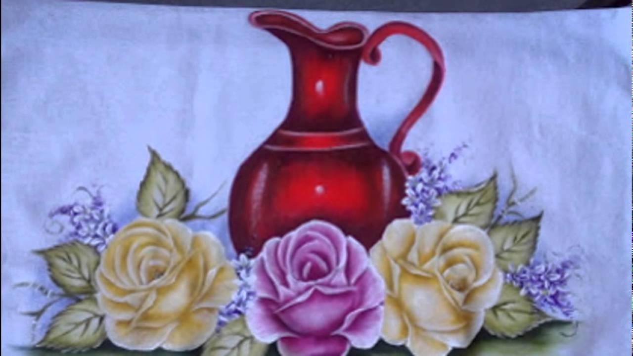 Pintura em tecido ,Pintura em tela, Riscos e desenhos para