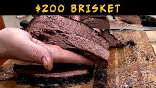 $200 BBQ Brisket | Akaushi Brisket on Weber Smokey Mountain
