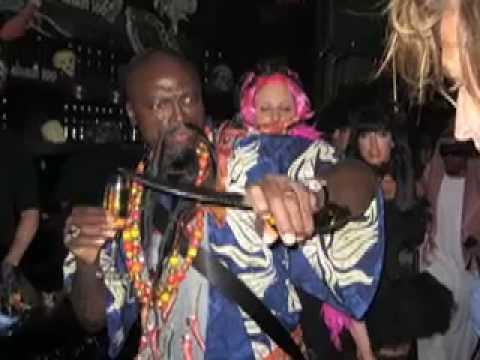 Linda Lauren at Heidi Klum and Seal's 2008 Hallowe...