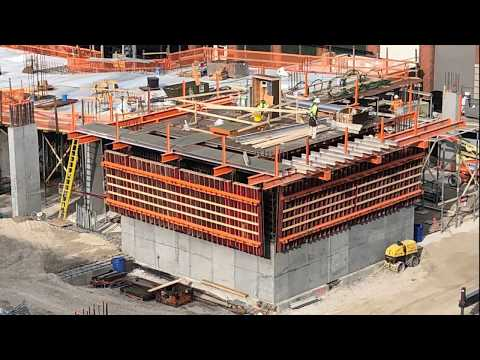 Core Assembly, Pour and First Lift in St. Louis, Missouri