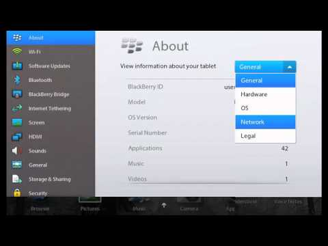 How to copy files to and from a BlackBerry PlayBook using Wi