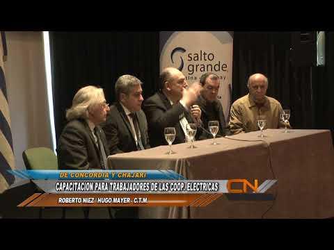 Apertura del Curso de Capacitación para las Cooperativas de Concordia y Chajarí