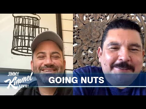 "Jimmy Kimmel's Quarantine Minilogue – Staying Normal, Guillermo's Snacks & Trump's ""Chinese Virus"""