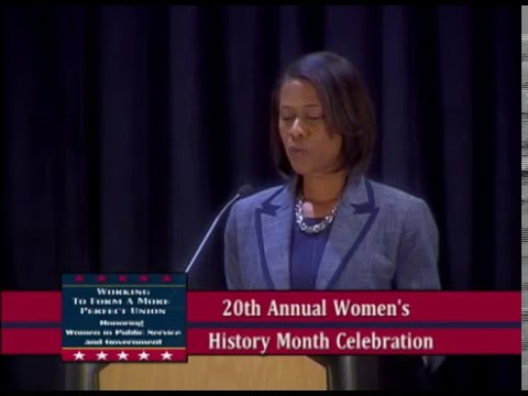 2016 City of Tampa Women's History Month Celebration
