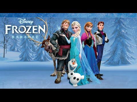 Disney Karaoke: Frozen - iPad app demo for kids