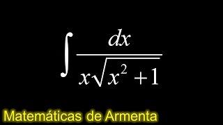 integracion por sustitucion trigonometrica ejemplo 11