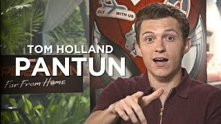 TOM HOLLAND PANTUN BAHASA INDONESIA