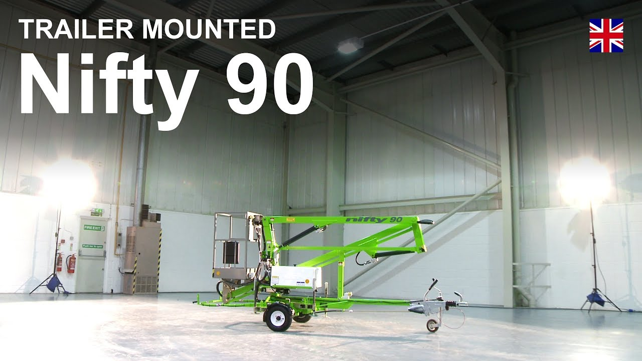 Nifty 90 Product Video | Trailer Mounted Cherry Picker from ... on