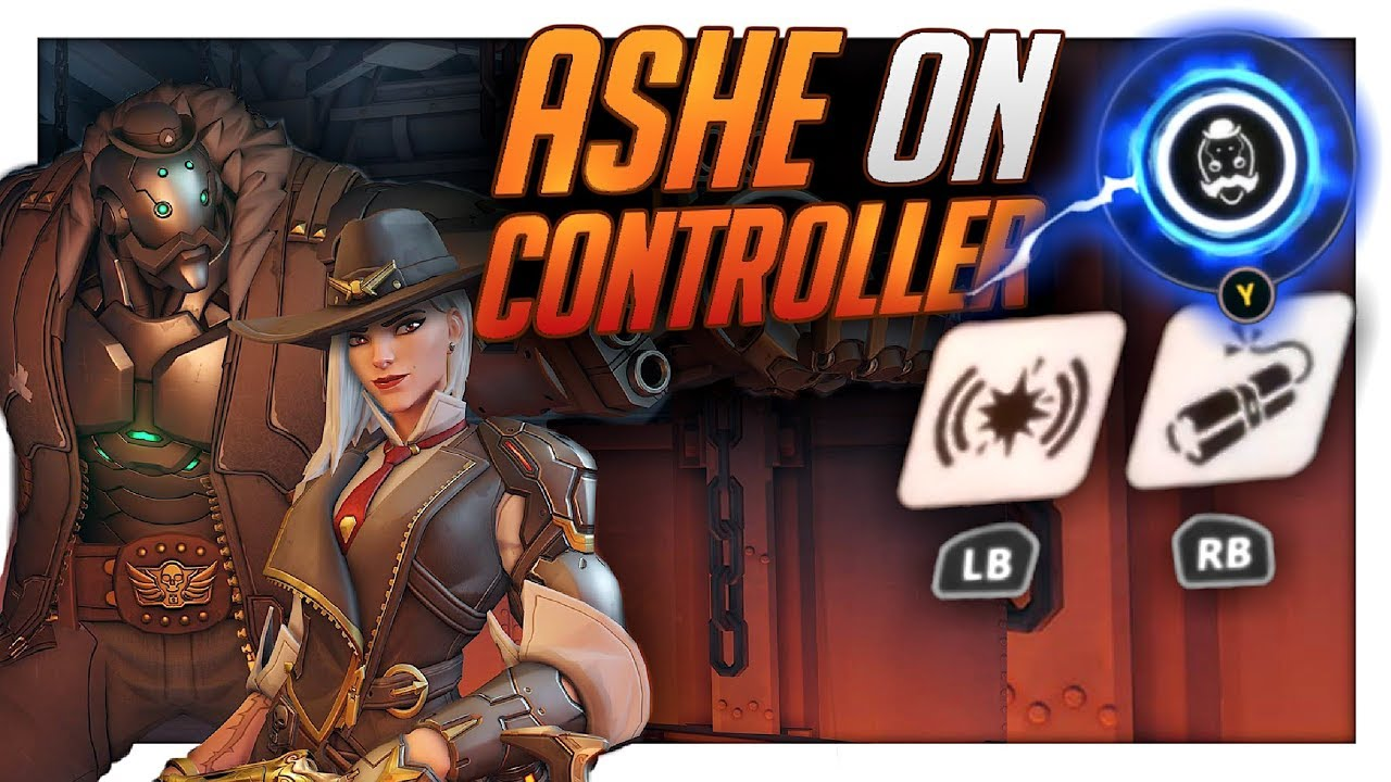 Ashe Ptr Overwatch