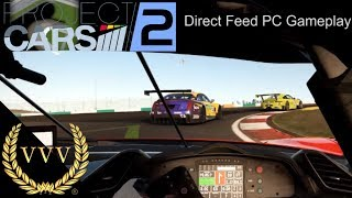 Project Cars 2 E3 PC Direct Feed Controller Gameplay
