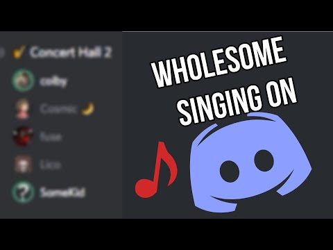 Wholesome Singing On Discord