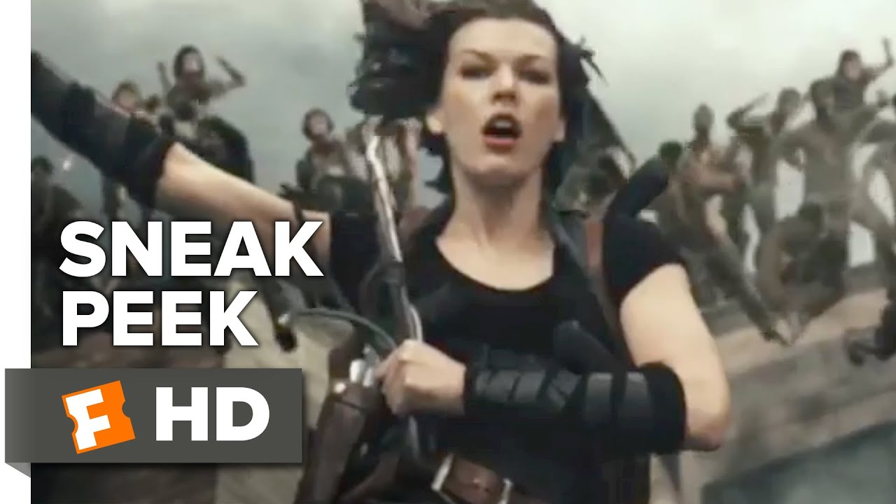 Ruby Rose Drops Resident Evil The Final Chapter Movie: Resident Evil: The Final Chapter Official Sneak Peek 1