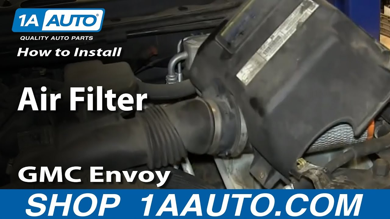 how to replace air filter 02 09 gmc envoy envoy xl xuv 2008 Envoy Engine Diagram Oil System signs you have a bad oil pressure sensor