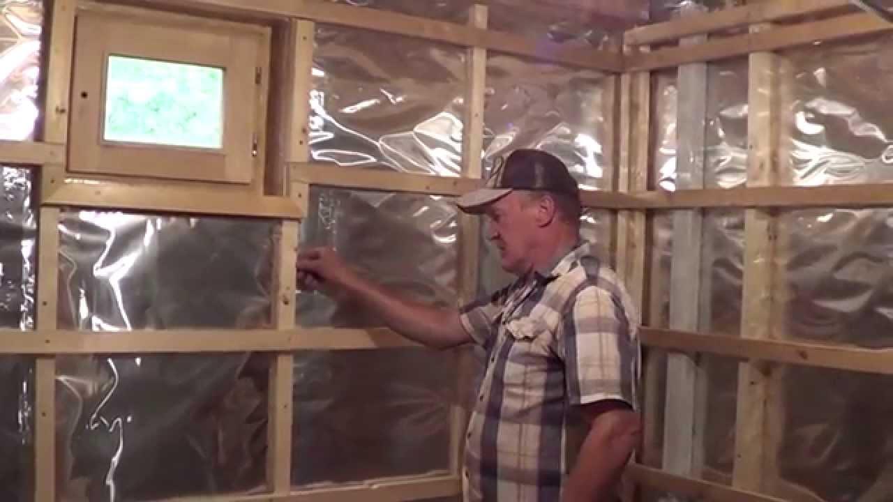 Как построить парилку своими руками