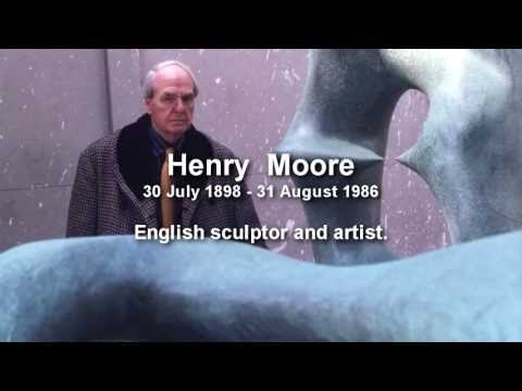 Henry Moore English Sculptor and Artist