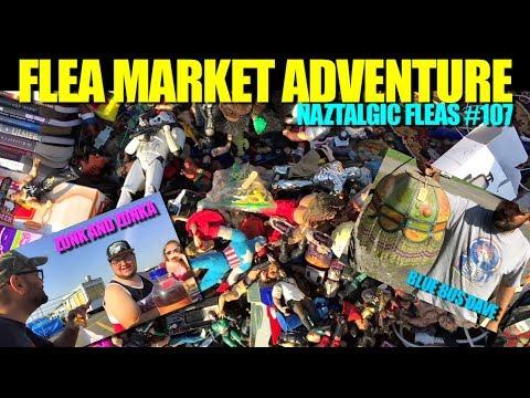 FLEA MARKET ADVENTURE #107 (Retro Video Games, Vintage Toys, Antiques)
