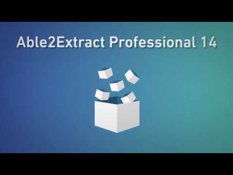 Able2Extract Professional 14 Reviews and Pricing - 2019